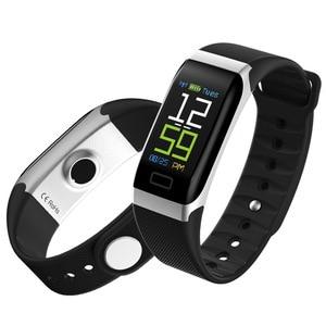 Image 5 - L8STAR R7 Smart Armband Wrist Band Horloge Fitness Tracker Hartslag Gezondheid Monitor USB Opladen Bloeddruk IP67 stappen
