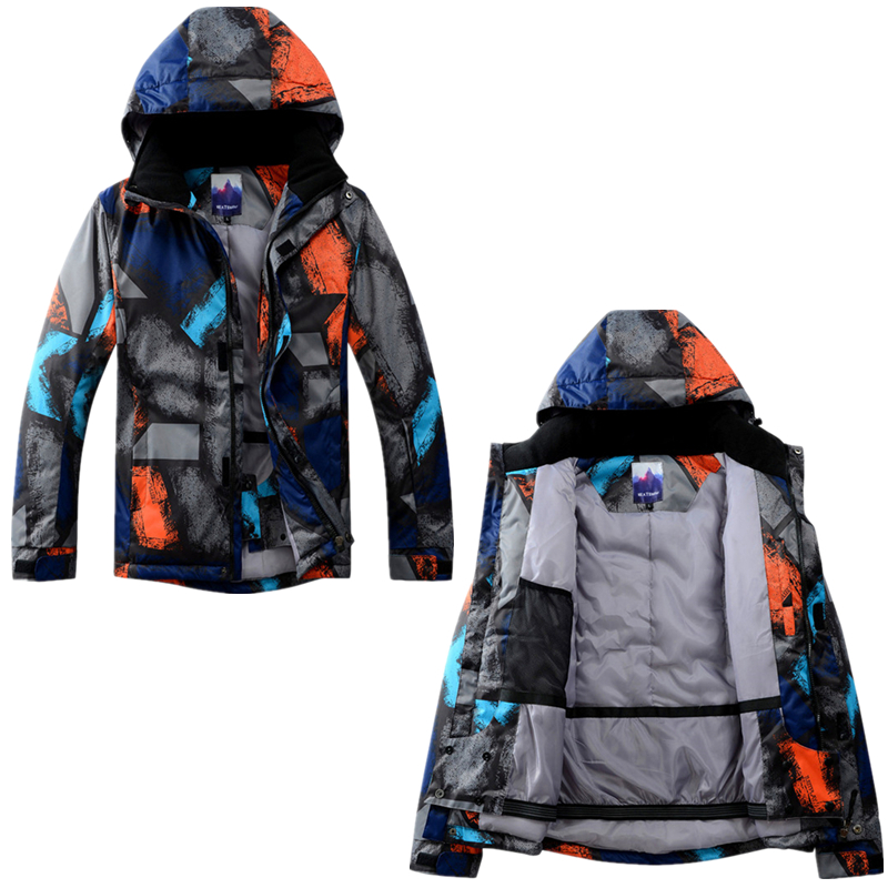 Winter Jacket+Pans Men Snowboard Waterproof Windproof Ski Down Jacket Climbing Thermal Snow Outdoor Ski Coat Male Large Size men and women winter ski snowboarding climbing hiking trekking windproof waterproof warm hooded jacket coat outwear s m l xl