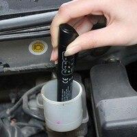 100% Goede kwaliteit Remvloeistof Tester 5 LED Auto Voertuig Auto Automotive Testen Tool voor DOT3/DOT4 Gratis verzending