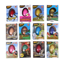 1 Box funny gadgets educational toys for children kids joke gifts large growing animal water expasion eggs toy(China)