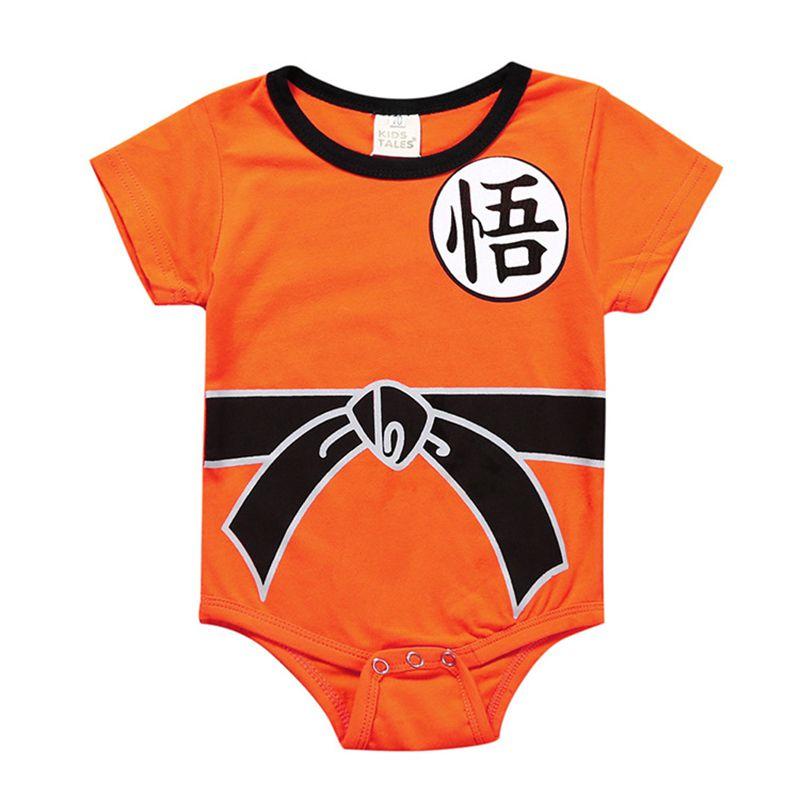 1-3 T Zomer Nieuwe Mode Pasgeboren Jumpsuit Baby Meisjes Jongens Een Stuk Bodysuit