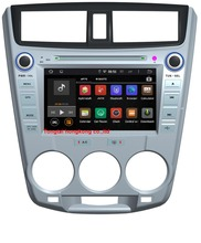 8″ Android 5.1.1 for HONDA CITY 2012 car dvd,gps navigation 3G,Wifi,BT,4 core,16G flash,1024 x 600,Russian,English