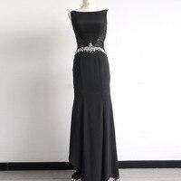 Elegant Evening Dresses Beading Women S Long 2017 Black Ever Pretty Floor Length Gown Fast Shipping