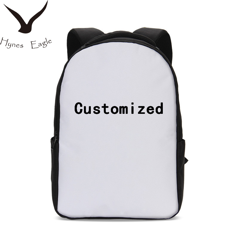 Hynes Eagle Custom Your Image Name Logo Backpacks 3D Printing Travel Backpacks Bookbag School Bag Casual Laptop Backpacks hynes eagle 3 pcs set 3d letter bookbag boys backpacks school bags children shoulder bag mochila girls exo printing backpack