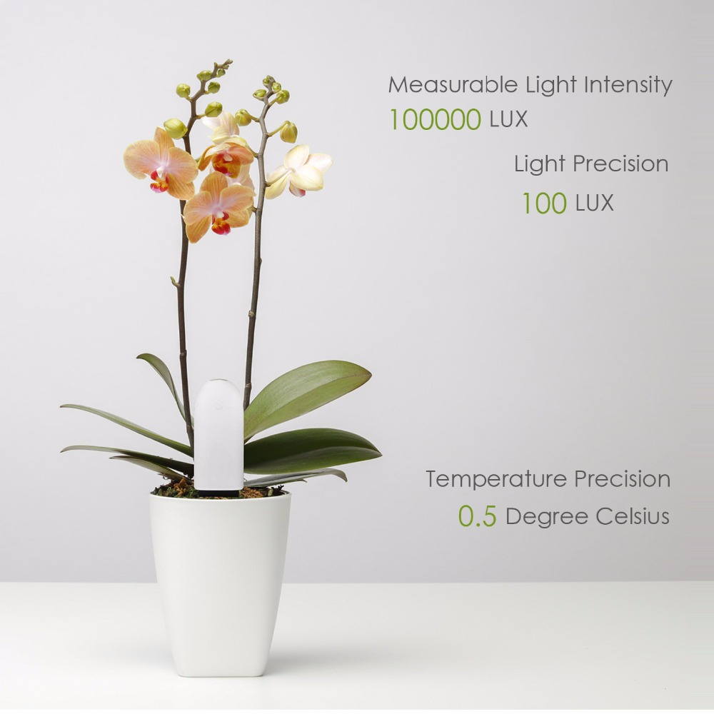 Image 4 - International version Original Xiaomi Mi Flower Monitor Plants Soil Water Light Smart Tester For Xiaomi Flora Sensor Garden-in Smart Remote Control from Consumer Electronics