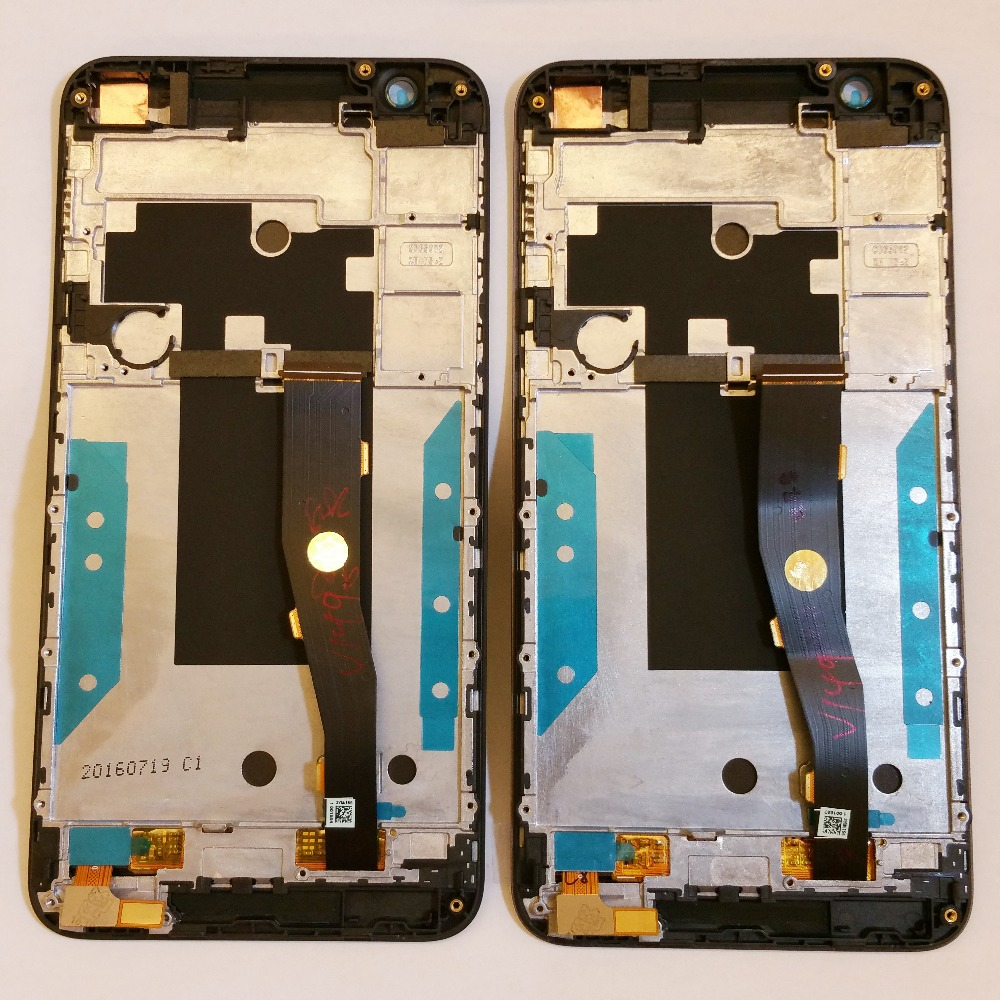 Original LCD screen display+ touch panel digitizer with frame For HTC One E9s  free shipping lcd screen display touch panel digitizer for htc bolt for htc 10 evo white or black color free shipping