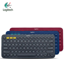 Logitech K380 Multi-Device Bluetooth Keyboard with 2 AAA Battery Support Official Verification for Windows Mac Chrome OS