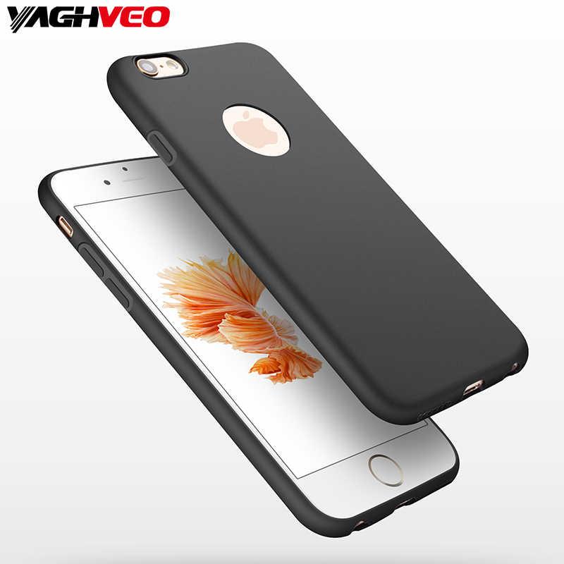Для iphone 6 6s plus чехол высокого качества супер матовый щит ТПУ мягкий силиконовый