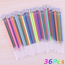 12, 24, 36, 48 Colors refills ink cartridge Highlighters Fluorescent Refill for Gel Pen / ball point pen office school supplies