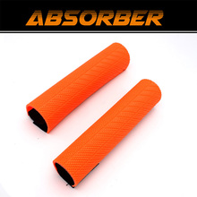 Motorcycle Front Fork Protector Shock Absorber Guard Wrap Cover Dust Cover For KTM YZF250 CRF250 Pit Dirt Bike Motocross Moto стоимость