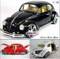 Кэндис го! горячие продажи классический металлический сплав модель автомобиля 1:18 volkswagen beetle пузыря коллекция подарок на день рождения 1 шт. бесплатная доставка