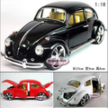 Candice guo! Hot sale classical metal alloy model car 1:18 volkswagen beetle bubble collection birthday gift 1pc free shipping