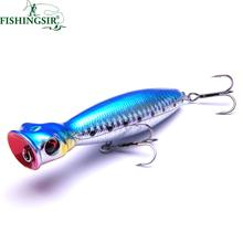 Isca Artificial Big Mouth Popper Fishing Lures 10cm/16g 13cm/36g 8cm/9.5g Topwater Floating Lure Hooks Bait Crankbait