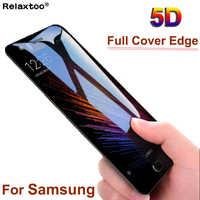 Verre trempé 5D pour Samsung Galaxy j6 2018 j j5 j6 j7 pro 2017 a7 a5 a6 a7 a8 plus protecteur d'écran sur un film de protection J 6 7