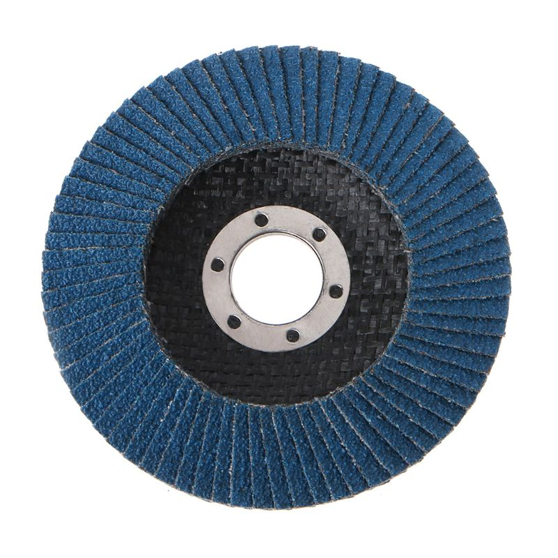 4.5 Inch 115mm 5PCS 40//60//80//120 Grinder Grinding Wheel Blades Flap Angle Discs