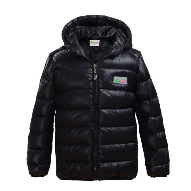 Niños chaqueta abajo Hiheart capa del niño hacia abajo la luz de peso ligero abajo chicos Chica inventario Claro barato ventas