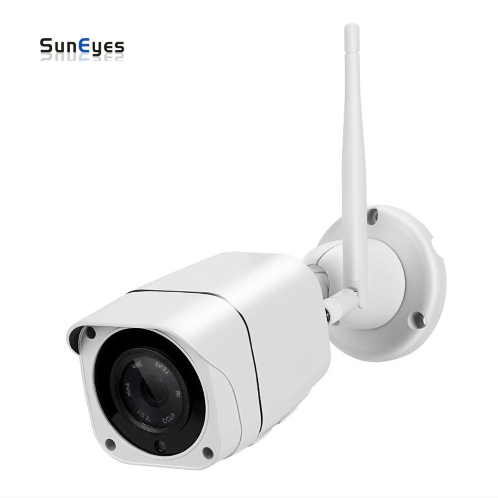 SunEyes  SP-V1813W 1080P Full HD Wireless IP Camera Outdoor Wifi P2P and IR Night Vision Built-in Two Way Audio Micro SD SlotSunEyes  SP-V1813W 1080P Full HD Wireless IP Camera Outdoor Wifi P2P and IR Night Vision Built-in Two Way Audio Micro SD Slot