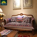 NEW Quilted elastic slip-resistant Flower sofa cover high quality cotton sofa seat cushion plaid stripped Sectional Sofa cover