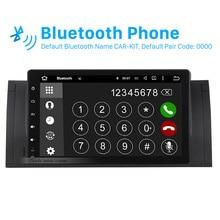 5.1.1 Seicane 9 polegada Android Autoradio GPS Do Carro Um sistema de a/V para 2000-2007 BMW X5 E53 com Rádio RDS OBD2 Controle de Volante