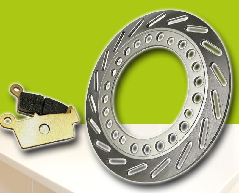 Motorcycle modified rear brake pad + rear brake disc suitable for Honda SL230 CTX200 AX-1 250 new motorcycle rear brake disc brake disc suitable for yamaha fz600 fzs600 srx600 yx600 yzf600