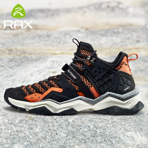 Rax Men  Hiking Shoes 2019 Spring New Breathable Outdoor Sports Sneakers for Men Mountain Shoes Trekking Sports Shoes Male Lahore