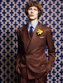 New Brown Classic custom made men double breasted slim fit suit Blazers  gentleman style wedding suits for men