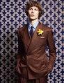 Nuevo Marrón Clásico por encargo de los hombres de pecho doble slim fit Blazers traje estilo gentleman trajes de boda para hombres