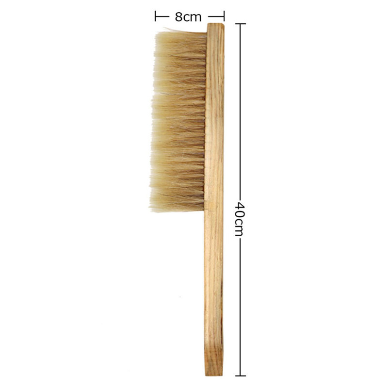 New 1PC Natural Beekeeping Bee Hive Brushes Horse/'s mane pig bristle