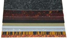 KAISH 25x20cm Acoustic Guitar Self Adhesive Scratch Plate Sheet Pickguard Material Sheet 10 Colors Available цена в Москве и Питере