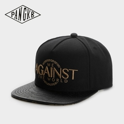 PANGKB Brand AGAINST CAP THE WORLD hip hop snapback hat for men women adult outdoor casual sun baseball cap bone