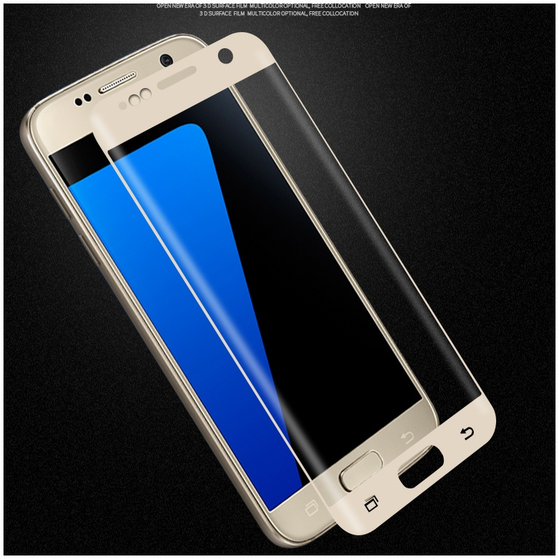 For Galaxy S7 <font><b>Tempered</b></font> <font><b>Glass</b></font> MOFI 3D <font><b>Curved</b></font> <font><b>Tempered</b></font> <font><b>Glass</b></font> <font><b>Screen</b></font> Full <font><b>Cover</b></font> <font><b>Film</b></font> for Samsung Galaxy S7 G930 - Black
