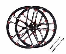 MTB 5 spokes mountain bike wheels magnesium alloy  26 speeds  wheels 26″ 27.5″ inches Mountain Bicycle Wheel parts bike rims