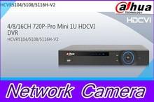 HCVR5104H-V2/HCVR5108H-V2/HCVR5116H-V2 DAHUA 4/8/16ch Mini 1U Hybrid HDCVI+IP Free DHL shipping