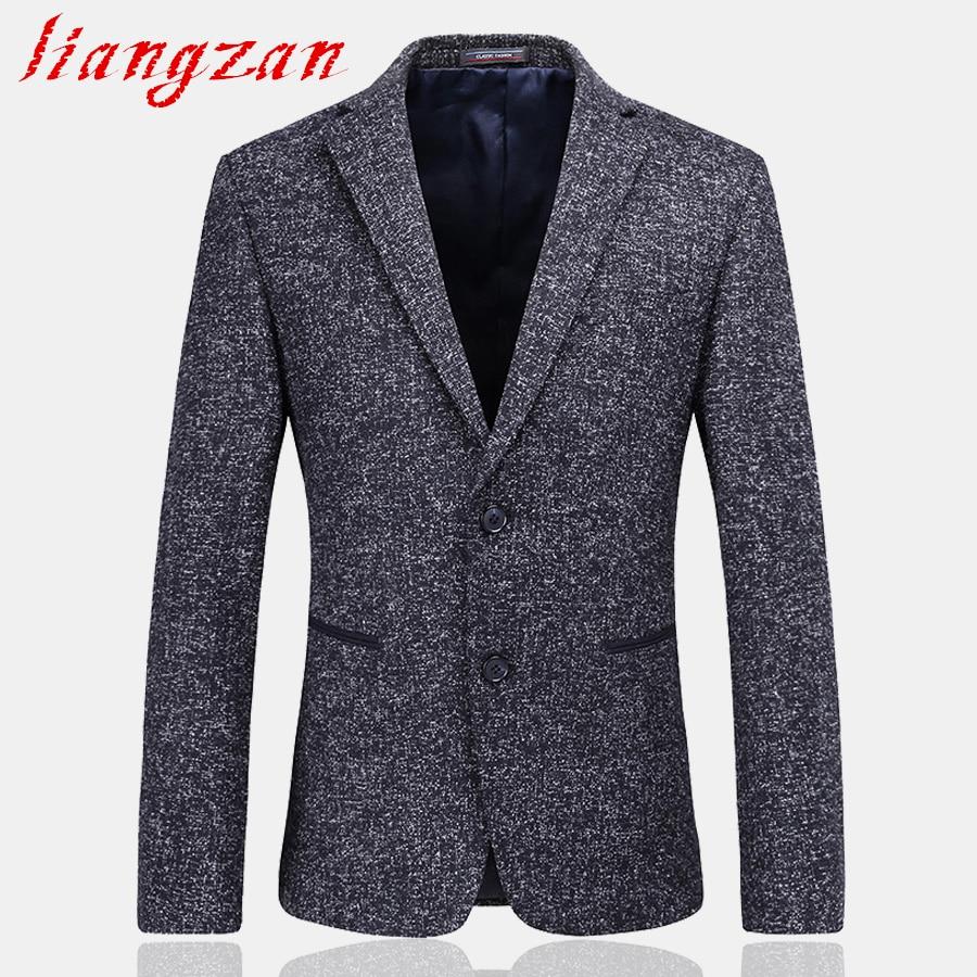 Men Blazer Brand Slim Fit 2017 New Casual Dress Blazer Suit Male High Quality M-3XL Two Button Formal Suit Blazer SL-G054 jones new york men s vince two button side vent suit