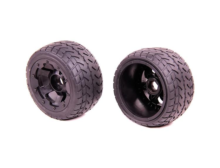ФОТО  Rear highway-road wheel set For 1/5 HPI Baja 5B 5T