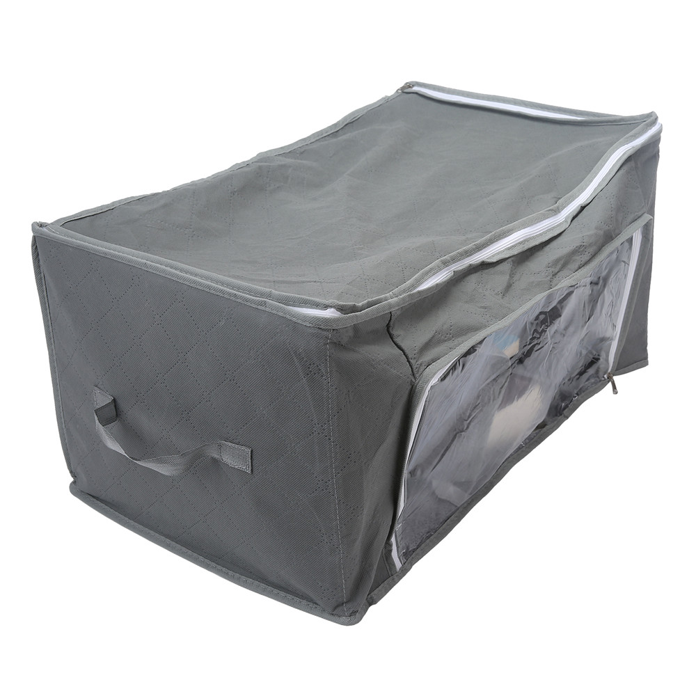 Storage Box Bag Non-Woven Fabric Folding Case Clothes Container Ties Socks Bra Underwear Organizer Boxes For Clothes Organizer