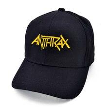 La gran 4 metal Metallica Anthrax Slayer Megadeth hombres de las mujeres  gorra de béisbol negro 9bc48eb1a6a