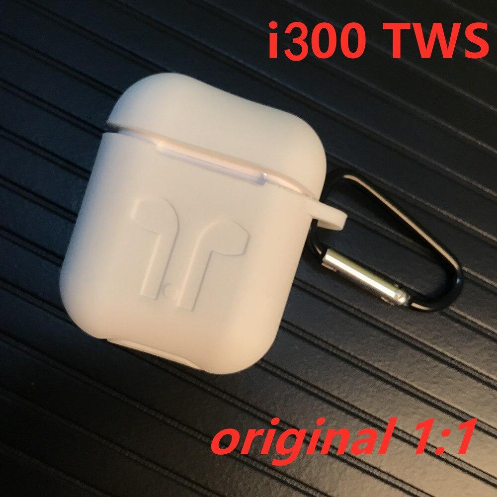 i300 TWS Aire 2 Wireless Bluetooth Earphones Pop up QI Wireless Charging Smart sensor Real 1