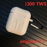 i300 TWS Aire 2 Wireless Bluetooth Earphones Pop up QI Wireless Charging Smart sensor Real 1:1 PK w1 chip i200 i130 i60 i30 tws