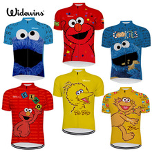 NEW 7 Cycling Jersey Styles Sesame Street Elmo Cookie Grover Zoe& Ernie Big Bird Stuffed Gift 6516