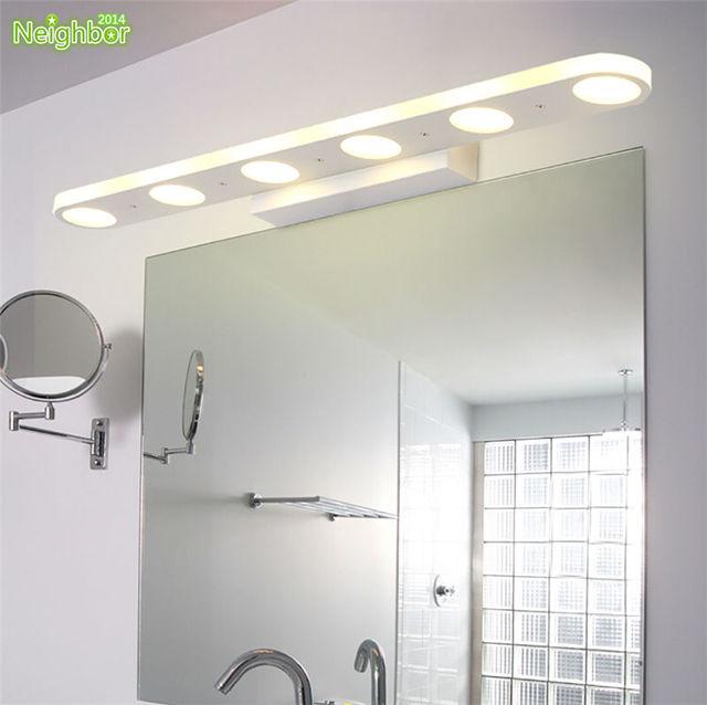 Illuminazione interna moderna applique da parete bagno specchio luce led impermeabile riparo - Luce led specchio bagno ...