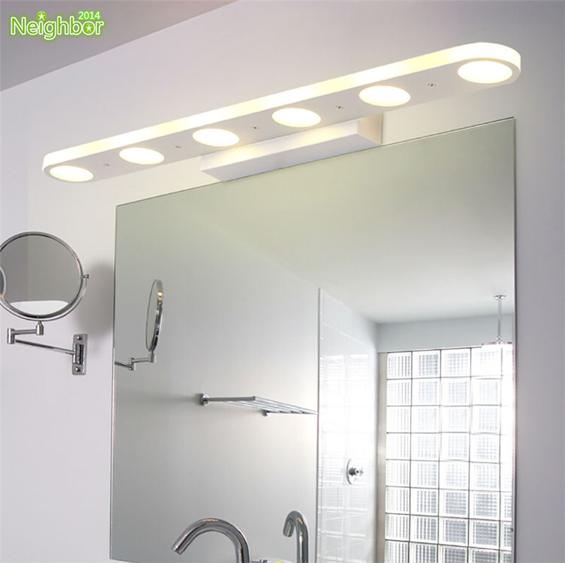 Bathroom Vanity Lighting Concept For Modern Houses: Aliexpress.com : Buy Modern Indoor Lighting Bathroom Wall Light LED Mirror Light Waterproof