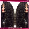 Бразильский вьющиеся парик шнурка девы человеческих волос вьющиеся парики фронта шнурка/доступное полные парики шнурка с ребенком волос для афро-американцев