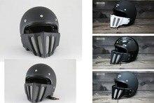 TT & CO Японский Томпсон мотоциклетный шлем Съемный подбородок Дух Rider Ретро Harley Мотокросс Шлемы для мужчин и женщин