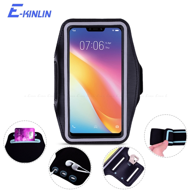 new styles 8ddb4 dc775 US $2.98 25% OFF|Arm Band Cover Case For BBK vivo Y65 Y67 Y69 Y71 Y75 Y75s  Y79 Y95 Y91 Y81 Y83 Y85 Y97 Sport Running Gym Phone holder Bag Pouch-in ...