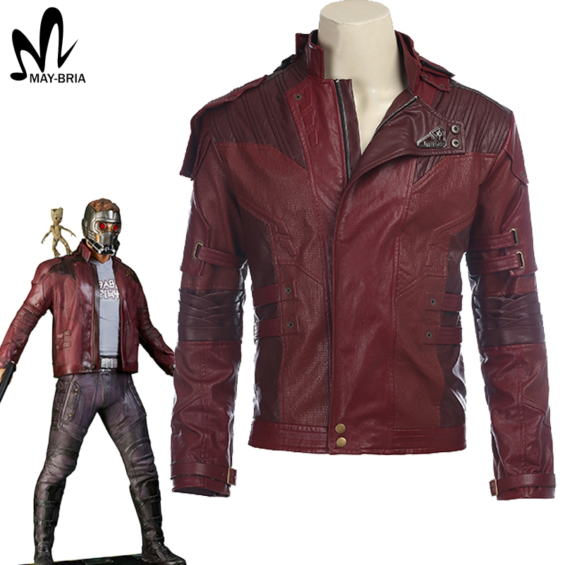 Star Lord Jacket short jacket cosplay Halloween costume Guardians of the Galaxy 2 Star Lord cosplay