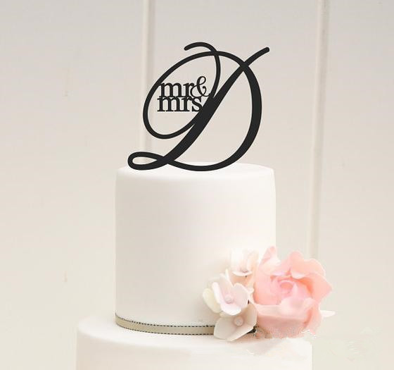 mr and mrs antic rustic wedding cake topper letter d wedding cake decorations favors supplies engagement gifts in cake decorating supplies from home