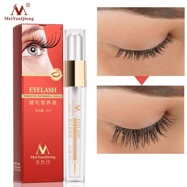 De crecimiento de pestañas tratamientos líquido suero potenciador del ojo más grueso mejor extensión de pestañas poderoso maquillaje