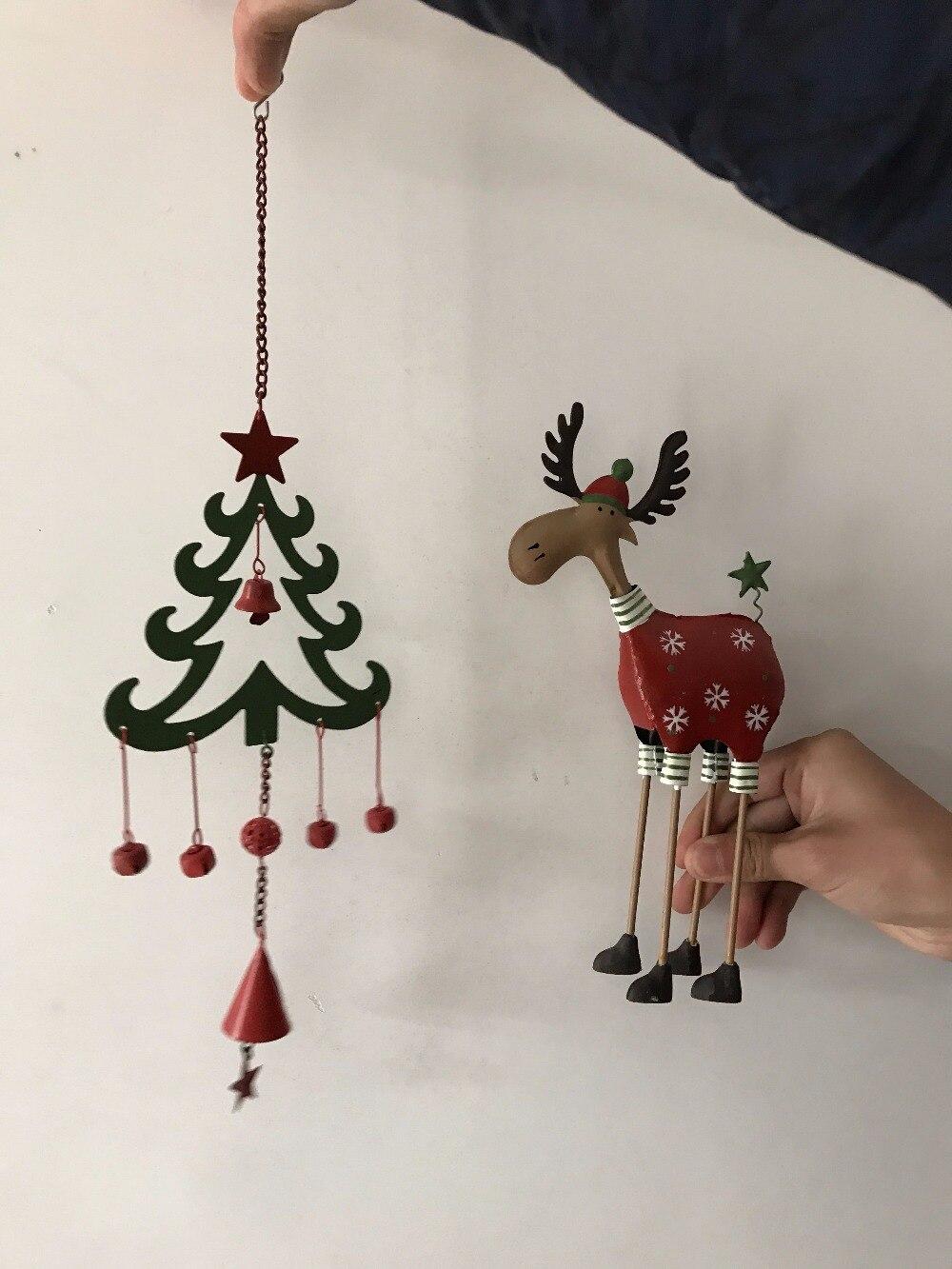 Gratis frakt, 2st / set, Jul Set Decoration Hängsmycke Julgran Elk - Heminredning - Foto 4