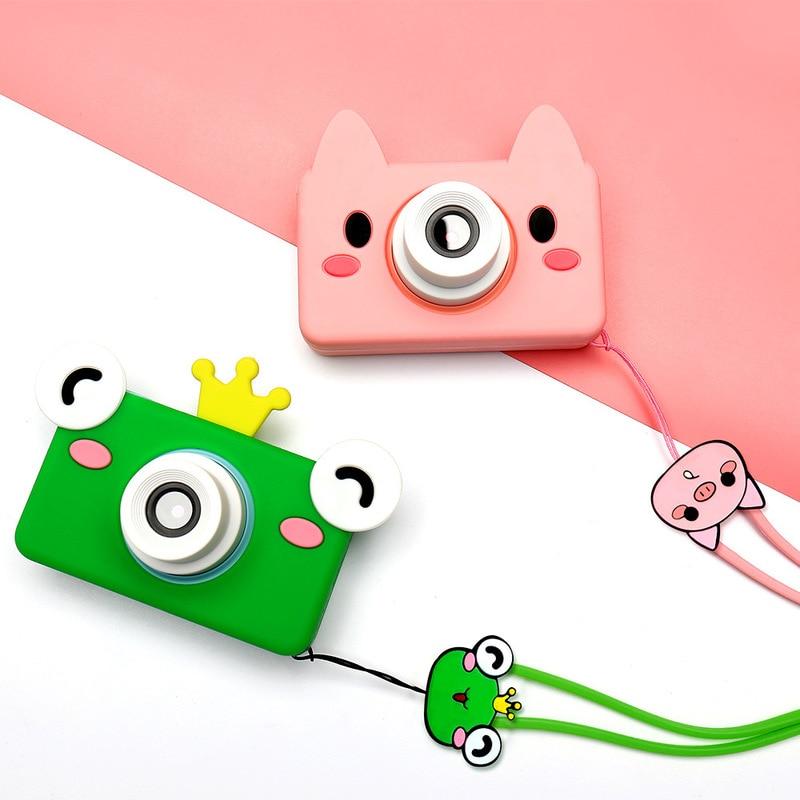 8.0MP HD Mini caméras caméscope vidéo numérique avec 2.0LCD écran dessin animé autocollant enfants cadeau jouet photographie - 4